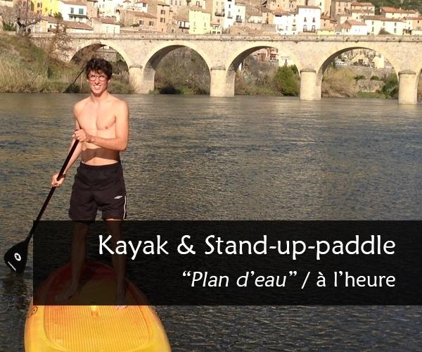 Kayak-stand-up-paddle