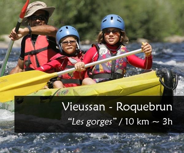 Canoe-Kayak Vieussan-Roquebrun