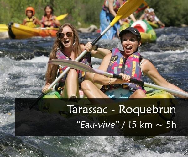 Descente canoe kayak Orb : Tarassac Roquebrun